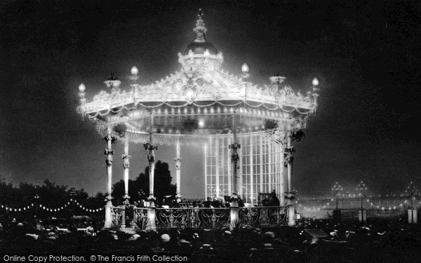 Southend-on-Sea, Illuminated Bandstand c.1910