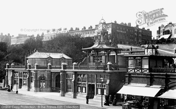 Southend-On-Sea, Pier Hill Buildings 1898