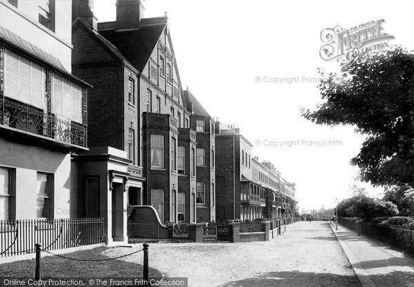 Photo of Southend On Sea, Royal Terrace 1891