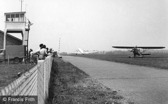 Southend-on-Sea, the Airport c1955