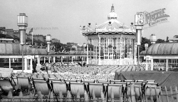 Southend-on-Sea, The Bandstand c.1950