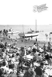 Southend-on-Sea, The Beach c.1949