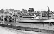 Southend-on-Sea, the Boating Beach c1950