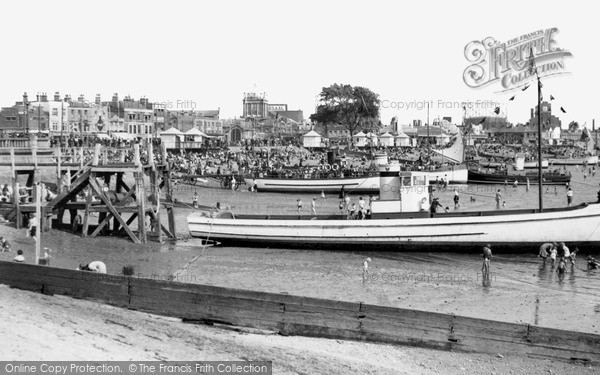 Photo of Southend-on-Sea, the Boating Beach c1950