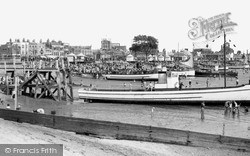 Southend-on-Sea, The Boating Beach c.1950