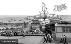 Southend-on-Sea, The Golden Hind And Pier c.1950