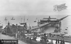 Southend-on-Sea, The Pier 1898