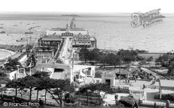 Southend-on-Sea, The Pier c.1955