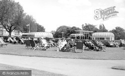 Southend-on-Sea, Westcliff Parade Bandstand c.1955