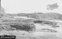 Beach And Cliffs c.1955, Southerndown