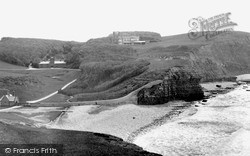 Dunraven Bay And Castle c.1955, Southerndown