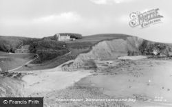 Dunraven Castle And Bay c.1955, Southerndown