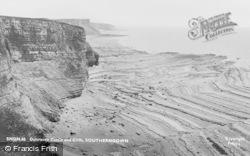 Dunraven Castle And Cliffs c.1960, Southerndown