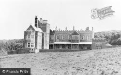 Dunraven Castle c.1955, Southerndown
