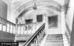 Dunraven Castle, The Staircase And Gallery c.1955, Southerndown
