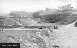 Lodge And Beach c.1955, Southerndown