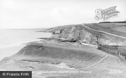 The Coast From The Castle c.1955, Southerndown