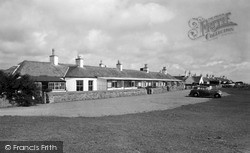 Southerness, Seafront Cottages c.1955