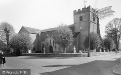 Southminster, St Leonard's Church c.1955