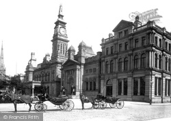 Southport, Cambridge Hall And Bank 1887