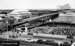 Southport, Casino And Pier c.1960