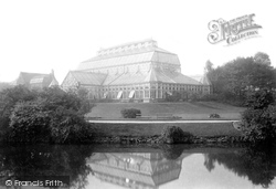 Southport, Churchtown Gardens, The Glasshouse 1895
