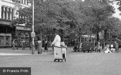 Directing Traffic, Lord Street c.1955, Southport