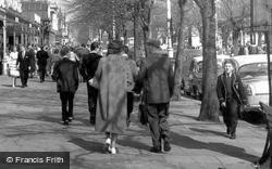 Fashion On Lord Street c.1960, Southport