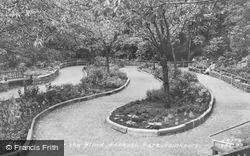 Garden For The Blind, Hesketh Park c.1955, Southport