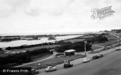 Southport, King's Gardens And Lake c.1955