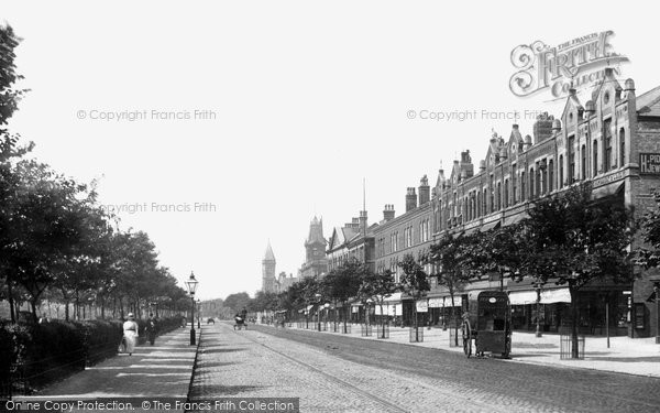Photo of Southport, Lord Street 1891
