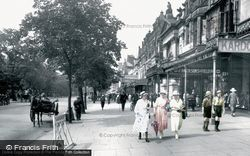 Southport, Lord Street 1921