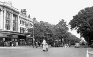 Southport, Lord Street c1955