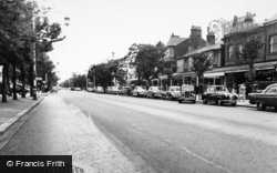 Southport, Lord Street c.1955