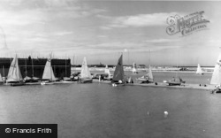 Southport, Marine Lake, North c.1960