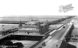Southport, Pier And New Road 1902