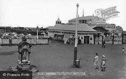 Pier From Promenade c.1960, Southport