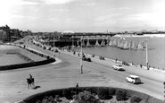 Southport, Promenade and Marine Lake, North c1965