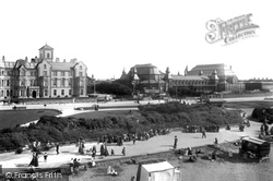 Southport, Royal Hotel And Winter Gardens 1902