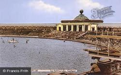 Sea Bathing Lake c.1960, Southport