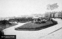 Southport, South Parade Gardens 1894