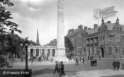 Southport, The Monument 1924