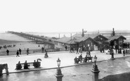 Southport, the Pier 1891