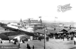 Southport, The Pier 1902