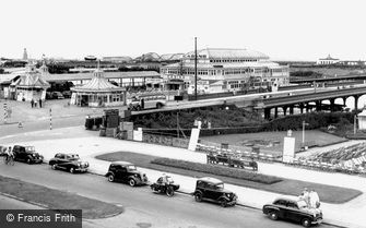 Southport, the Pier c1955