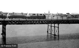 Southport, the Pier Train c1960