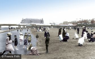 Southport, the Sands 1902