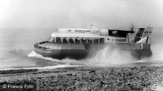 Southsea, Hovercraft c1965