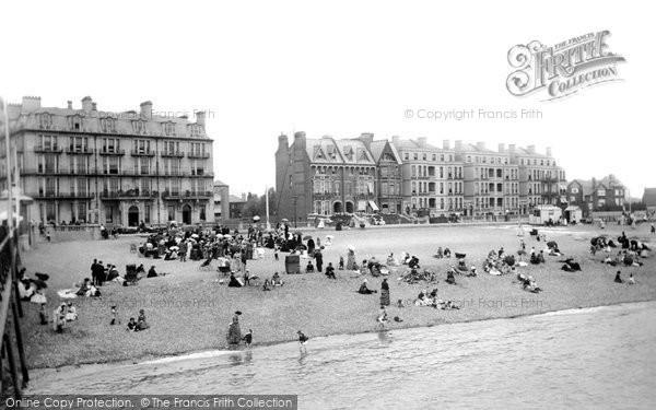 Photo of Southsea, the Beach 1890