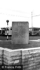 Southsea, the 'D' Day Memorial c1955